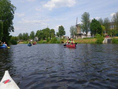 Kanutouren auf dem Fluss